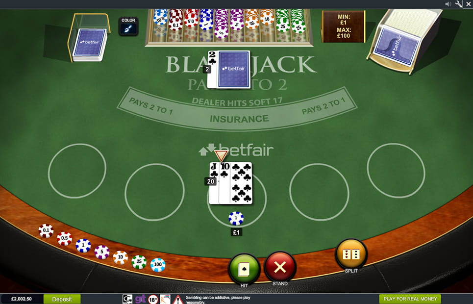 Blackjack Online Real Money Paypal